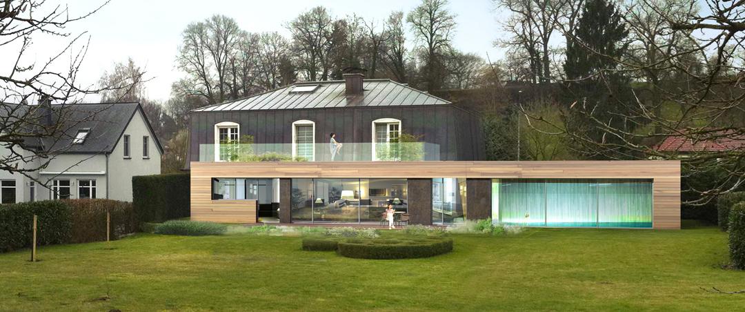 Projet d 39 annexe de maison rie boito architectes for Annexe maison